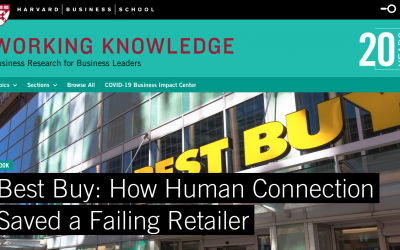 The Best Buy success story is a case study I taught MBAs in two classes. Here's why: